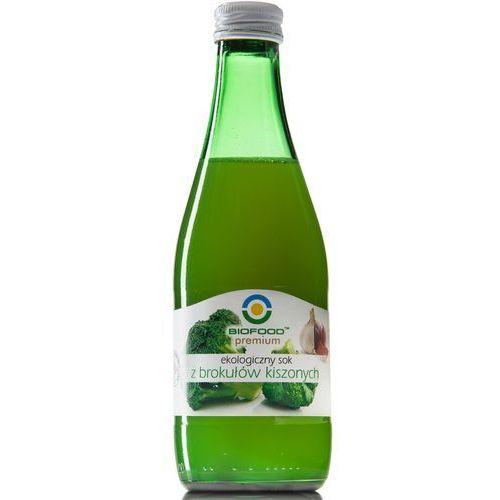 Sok z brokułów kiszonych bio 300ml marki Bio food