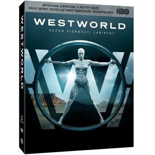 WESTWORLD, SEZON 1 (3DVD) DIGIPACK (Płyta DVD) (7321910347553)