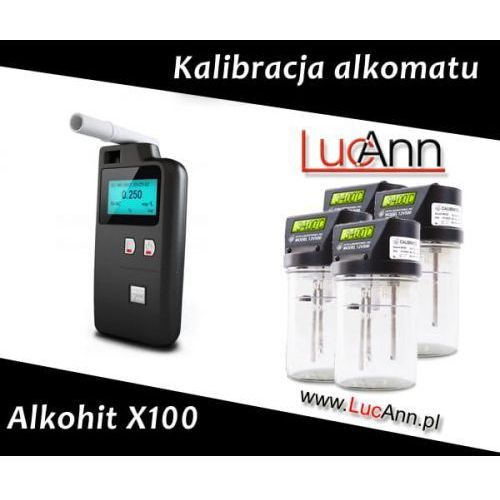 Kalibracja alkomatu Alkohit X100 + Świadectwo kalibracji, Kalibracja Alkohit X100