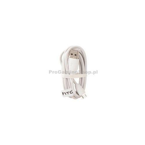HTC DC-M400/410 - kabel do transmisji danych z Micro USB | Biała