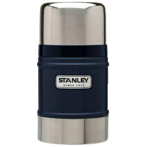 Termos obiadowy z miską Stanley Classic granatowy 0,5L