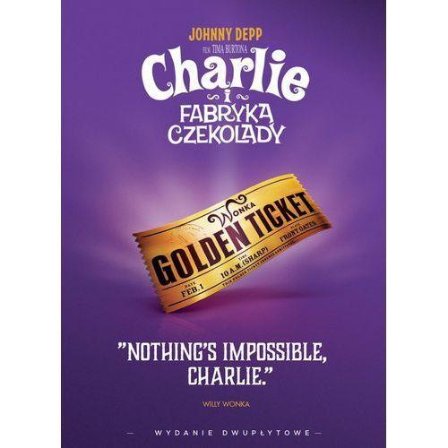 Tim burton Charlie i fabryka czekolady (2 dvd) iconic moments (płyta dvd)