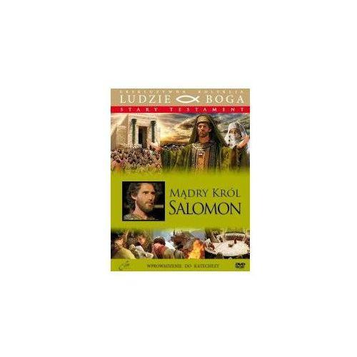 Praca zbiorowa Mądry król - salomon + film dvd - salomon - mądry król + film dvd