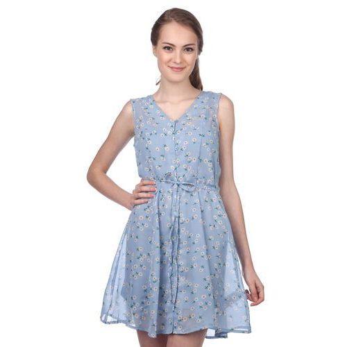 Brave soul sukienka damska trudy xs niebieski