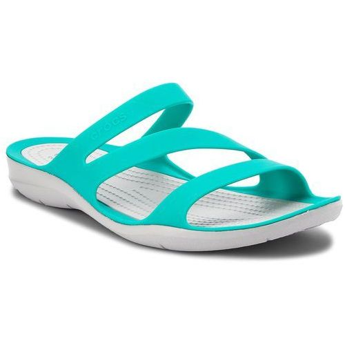 Klapki - swiftwater sandal w 203998 tropical teal/light grey, Crocs, 36.5-41.5
