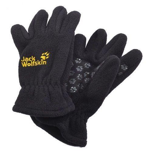 Jack wolfskin rękawiczki pięciopalcowe black (4049463651684)