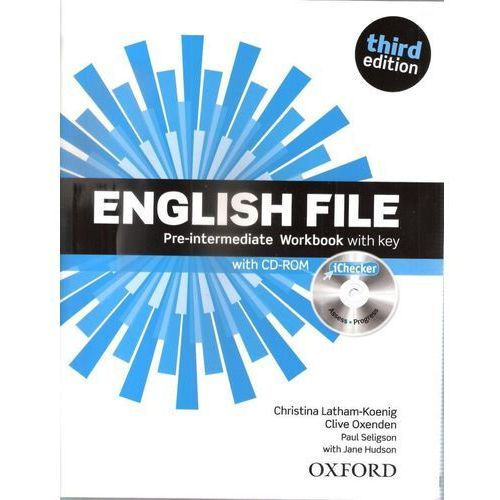 English File 3E Pre-Int WB With Key OXFORD - Praca zbiorowa