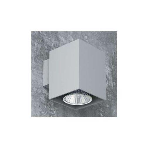 Kinkiet LAMPA ścienna ROTAX T087B1Kh+kolor Cleoni kwadratowa OPRAWA downlight