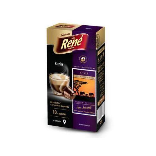 Kawa palona mielona Rene Kenia Espresso 50 g (10 kapsułek), 1681