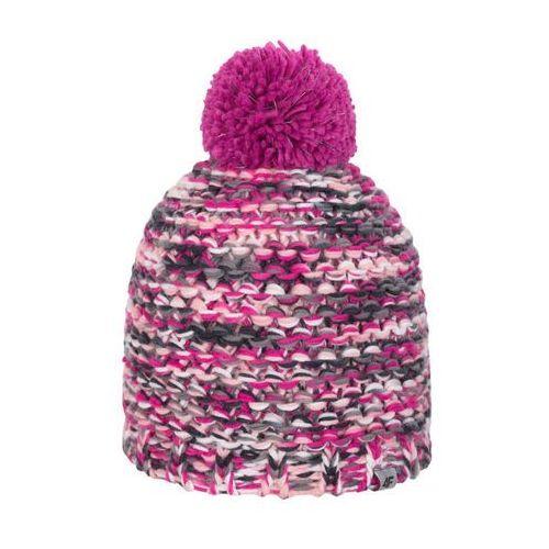 4F dziewczeca czapka J4Z17 JCAD210 wielokolorowy melanż 54, kolor wielokolorowy
