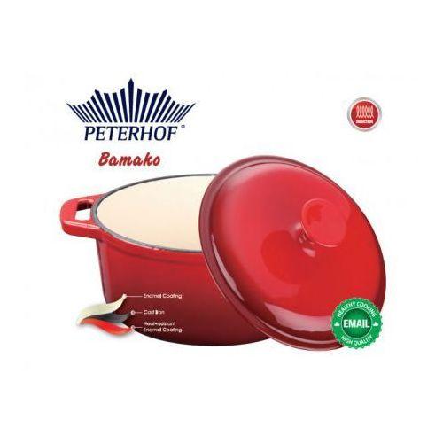 GARNEK ŻELIWNY EMALIOWANY PETERHOF 1.5L [PH-15778-18] - produkt z kategorii- garnki