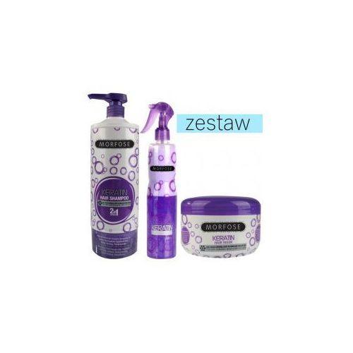 Morfose zestaw keratynowy szampon 1000ml odżywka 400ml maska 500ml