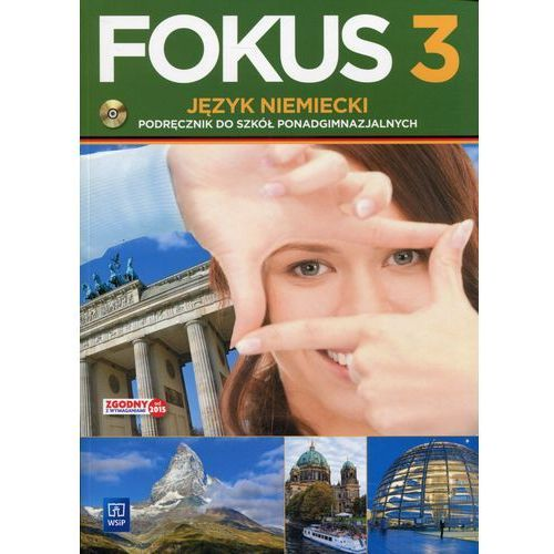 Fokus 3 Język niemiecki Podręcznik z płytą CD - Wysyłka od 3,99 (200 str.)