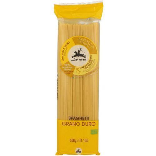 Makaron durum (semolina) spaghetti bio 500g - marki Alce nero