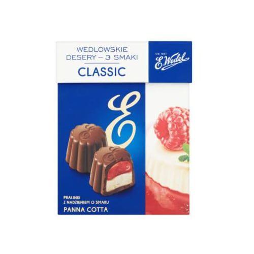 E. wedel 192g classic wedlowskie desery 3 smaki pralinki z nadzieniem (5901588057729)