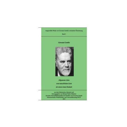 Gentile-Edition, Bd. 1 (9783734768286)