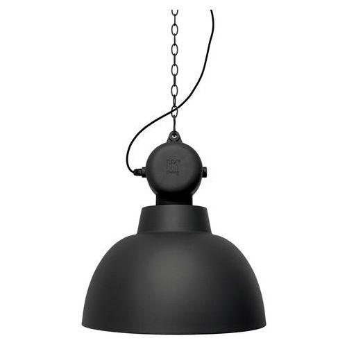 HK Living Lampa wisząca FACTORY L czarny mat VAA4038, kolor czarny;czarny