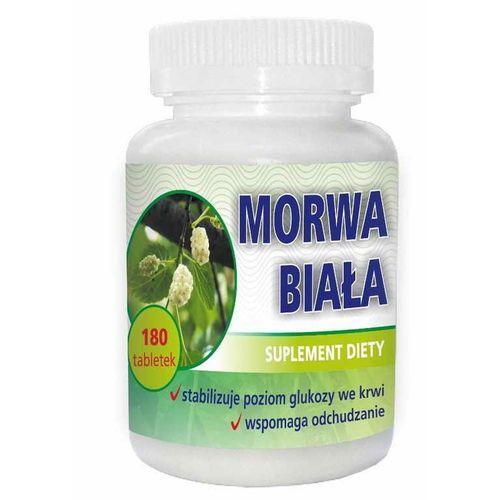 Tabletki Morwa biała ekstrakt z liści 120mg 180 tabletek DOMOS