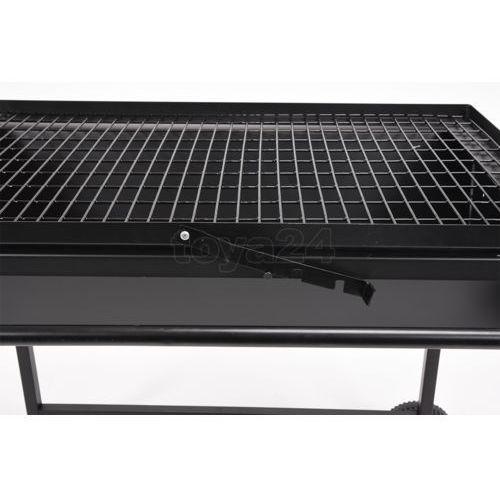 Węglowy grill ogrodowy otwarty, ruszt regulowany 81x50 cm / 99520 /  - zyskaj rabat 30 zł marki Toya