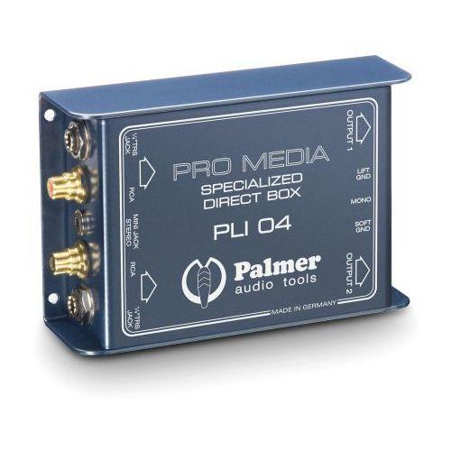 Palmer Pro PLI 04 2-kanałowy media DI-Box do komputera stacjonarnego i laptopa