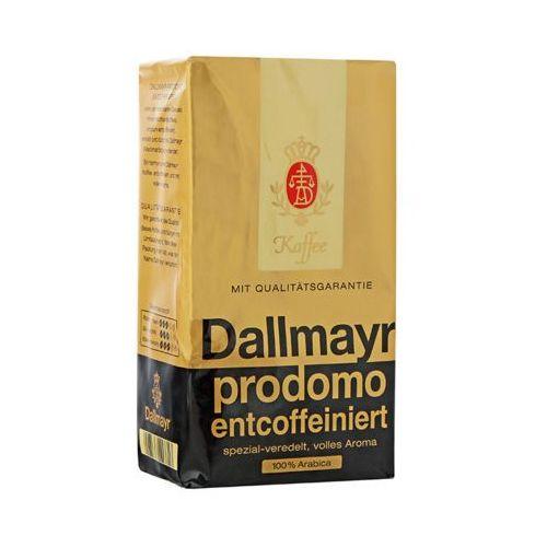 500g prodomo entcoffeiniert niemiecka kawa mielona bezkofeinowa import marki Dallmayr