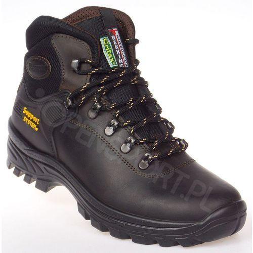 Męskie buty trekkingowe lontra dakar brązowy 40 marki Grisport