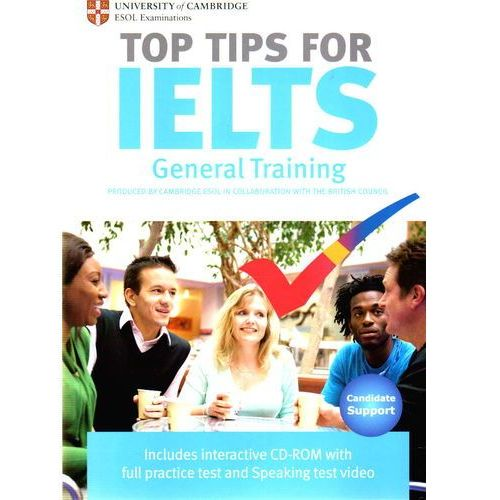 The Official Top Tips for IELTS General Training module + CD-ROM (ESOL) (lp) (92 str.)