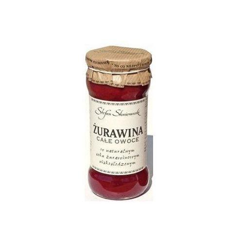 166stefan skwierawski Żurawina całe owoce w soku naturalnym 360g - stefan skwierawski
