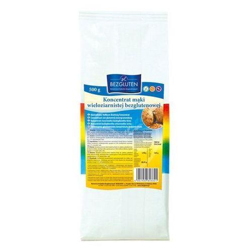 Koncentrat mąki wieloziarnistej 500g bezglutenowy BEZGLUTEN