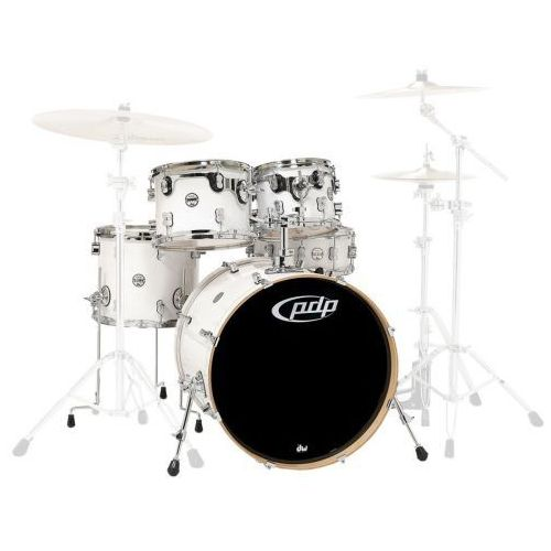 Pdp (pd806025) drumset pearlescent white