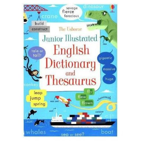 Junior Illustrated English Dictionary and Thesaurus, E. L. James