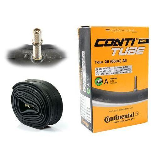 """Continental Co0181491 dętka tour 26'' oraz 27,5"""" x 1,4'' - 1,75'' wentyl auto 40 mm (4019238556599)"""
