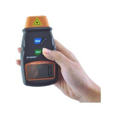 Tachometr/Obrotomierz Laserowy z Wyświetlaczem LCD + Pokrowiec..., 5907773416008