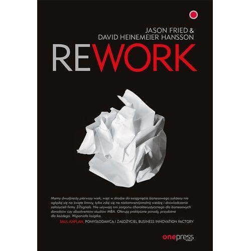 Rework - Fried Jason, Heinemeier Hansson David, Helion