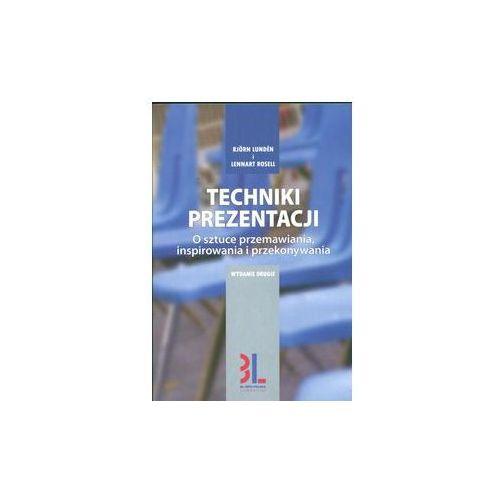 TECHNIKI PREZENTACJI WYD. 2 (2008)