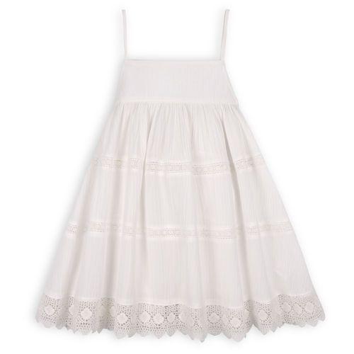 TROIZENFANTS Sukienka Marie biała (sukienka dziecięca)