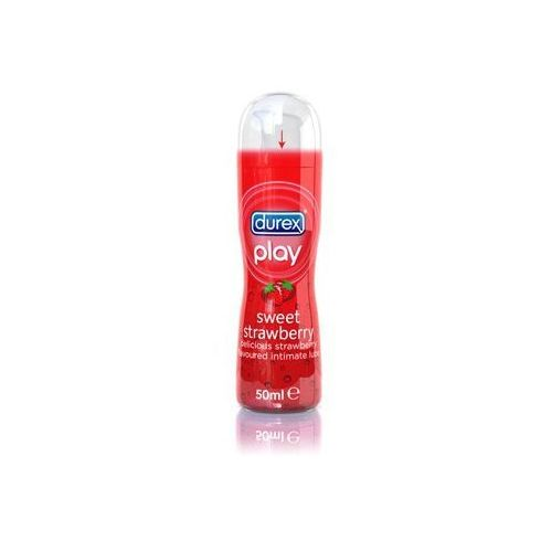 Durex Play smakowy żel intymny nawilżający Sweet Strawberry Lubricant 50 ml ze sklepu YourStyle.pl - Moda dla Ciebie