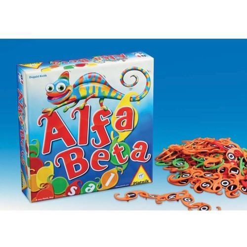 Piatnik Alfa beta gra +8 (9001890634871)