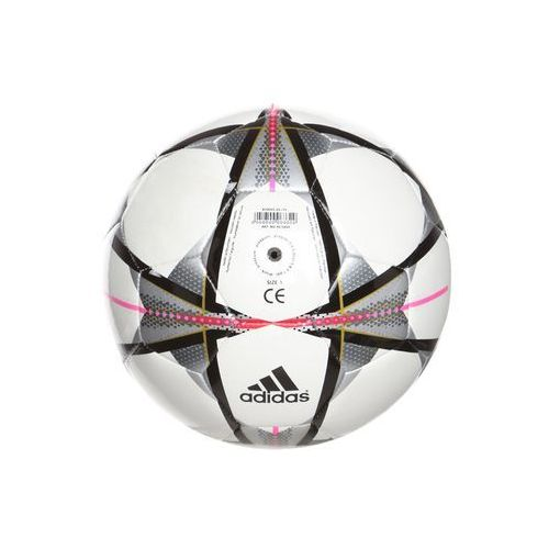 adidas Performance FINALE MILANO MINI Piłka do piłki nożnej white/black/silver metallic (4056559492854)