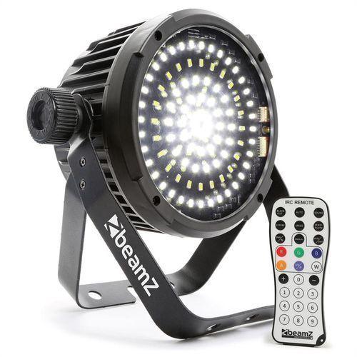 beamZ BS98 Stroboskop LED 98 x LED SMD DMX kolor biały pilot na podczerwień
