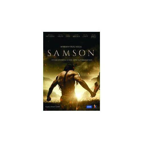 Samson. Wybrany przez Boga - książka + DVD (Płyta DVD)