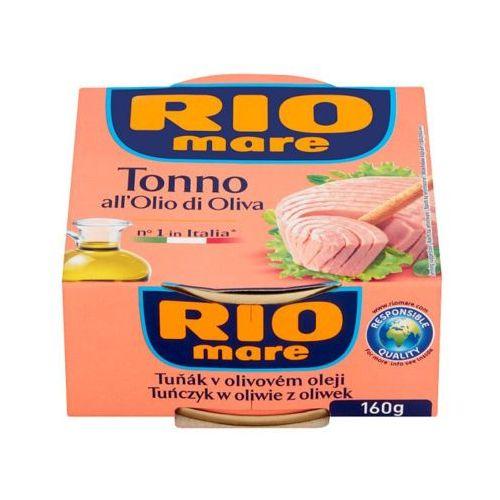 RIO MARE 160g Tuńczyk w oliwie z oliwek