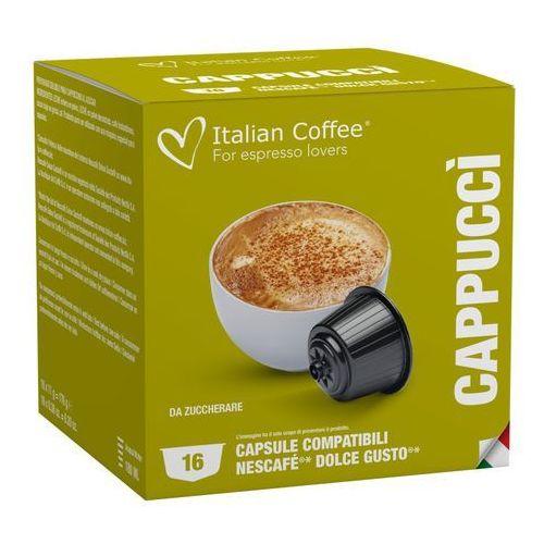 Nespresso kapsułki Capucci italian coffee kapsułki do dolce gusto – 16 kapsułek