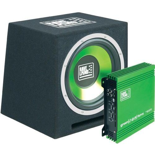 Zestaw car audio Raveland Green Force I, 500 W, 4 Ohm, 2-drożny, 95 dB, 22-160 Hz - szczegóły w Conrad.pl