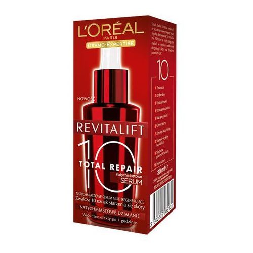 Loreal Revitalift Total Repair 10, multiregenerujące serum 30ml - produkt z kategorii- kremy na noc