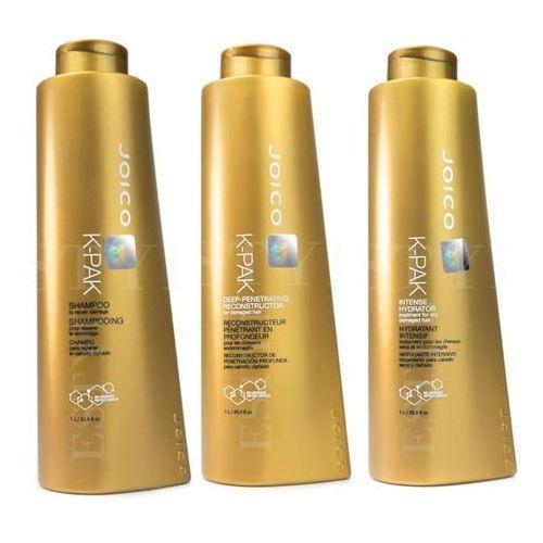 Joico K-Pak | Zestaw regenerujący: szampon 1000ml + maska 1000ml + terapia nawilżająca 1000ml (9753197531813)