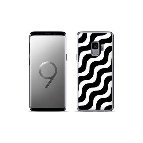 etuo Fantastic Case - Samsung Galaxy S9 Plus - etui na telefon Fantastic Case - biało-czarna fala