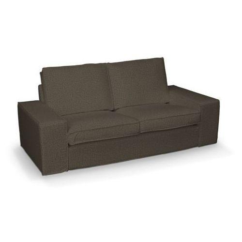 Dekoria pokrowiec na sofę kivik 2-osobową, nierozkładaną, beżowo-brązowy melanż, sofa kivik 2-osobowa, living