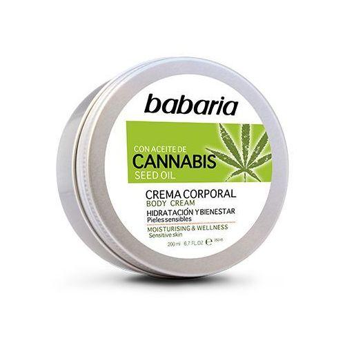 Babaria krem do ciała z olejem konopnym, masłem shea, olejem z drzewa moringa i witaminą e 200ml (8410412130028)