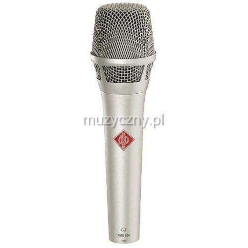 Neumann KMS 104 Plus mikrofon pojemnościowy, kolor niklowy
